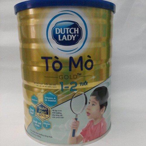 Sữa bột Dutch Lady Cô gái Hà Lan Tò Mò Gold - hộp 1.5kg (1 - 2 Tuổi )