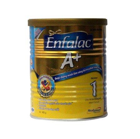 Sữa bột Enfalac A+ 1 - hộp 900g (dành cho trẻ từ 0 - 6 tháng tuổi)