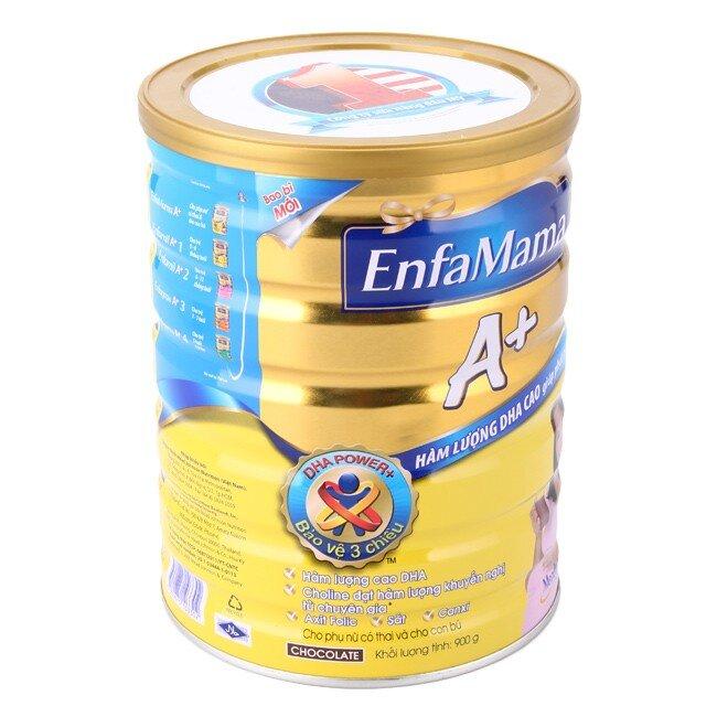 Sữa bột EnfaMama A+ - hộp 900g (dành cho bà mẹ mang thai và cho con bú)