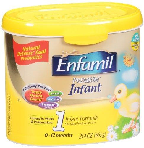 Sữa bột Enfamil Premium Infant 1 - hộp 629g (dành cho trẻ từ 0 - 12 tháng)