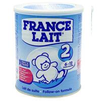 Sữa bột France Lait số 2 - 400g, 6 - 12 tháng