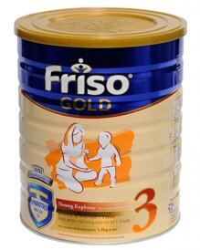 Sữa bột Friso Gold 3 - hộp 1500g (dành cho trẻ từ 1 - 3 tuổi)