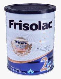 Sữa bột Frisolac 2 - hộp 900g (dành cho trẻ từ 6 - 12 tháng)