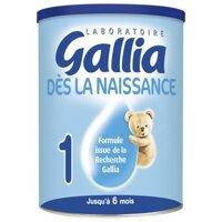 Sữa bột Gallia Calisma 1 - hộp 900g (dành cho trẻ từ 0 - 6 tháng)
