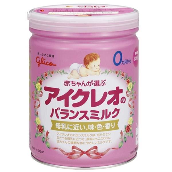 Sữa bột Glico Icreo số 0 - hộp 850g (dành cho trẻ từ 0 - 9 tháng)