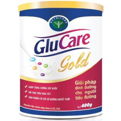 Sữa bột Glucare Gold - 400gr, cho người tiểu đường