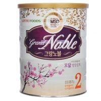 Sữa bột Grand Noble số 2 - hộp 750g , (6-12 tháng)