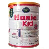 Sữa bột Hanie Kid 1 dành cho trẻ biếng ăn & suy dinh dưỡng 0-6 tháng tuổi (900g)