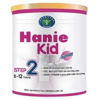 Sữa bột Hanie Kid 2 dành cho trẻ biếng ăn & suy dinh dưỡng 6-12 tháng tuổi (900g)