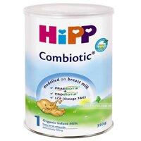 Sữa bột Hipp 1 Combiotic Organic - hộp 350g (dành cho trẻ từ 0 - 6 tháng)