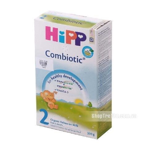 Sữa bột Hipp 2 Combiotic Organic - hộp 300g (dành cho trẻ từ 6 - 12 tháng)