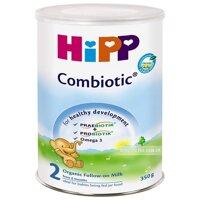 Sữa bột Hipp 2 Combiotic Organic - hộp 350g (dành cho trẻ từ 6 - 12 tháng)