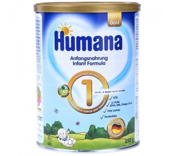 Sữa bột Humana Gold 1 - 350g