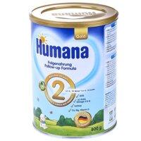 Sữa bột Humana Gold 2 - 800gr (dành cho trẻ từ 6-12 tháng)