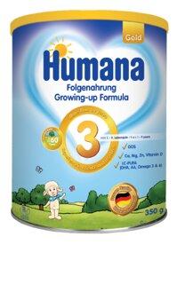 Sữa bột Humana Gold 3 - 350g (dành cho trẻ 1-9 tuổi)