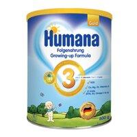 Sữa bột Humana Gold 3 - 800g (dành cho trẻ 1-9 tuổi)