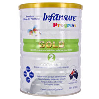 Sữa bột Infānsure Gold Step 2 - hộp 900g
