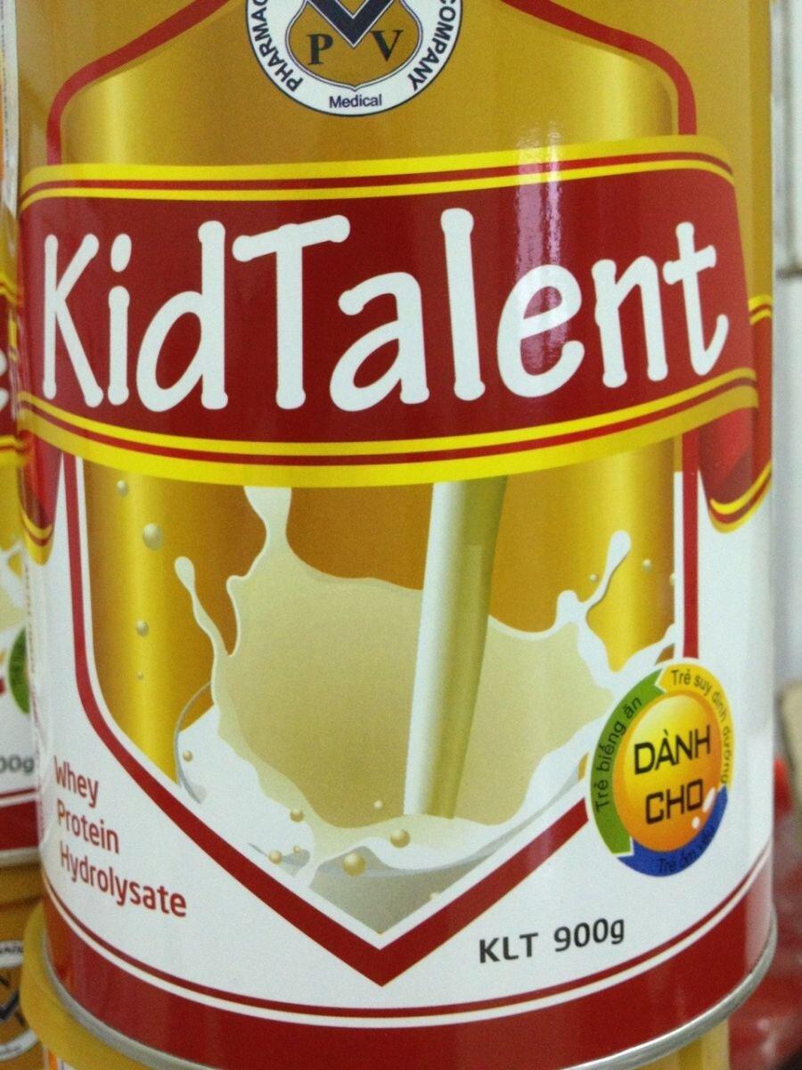 Sữa bột KidTalent 1 - hộp 900g