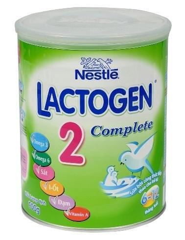 Sữa bột Lactogen Complete 2 - hộp 900g (dành cho trẻ từ 6 - 12 tháng)