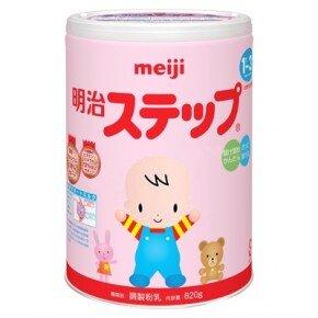 Sữa bột Meiji số 9 - hộp 820g (dành cho trẻ từ 1-3 tuổi)