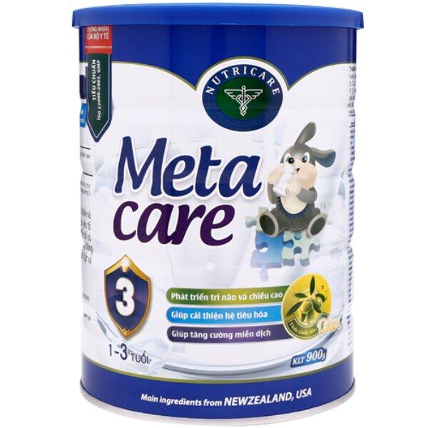 Sữa bột Meta Care 3 Olive - 900g