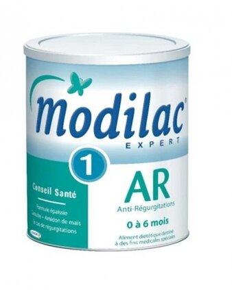 Sữa bột Modilac Expert AR1 (AR-1) - hộp 900g (dành cho trẻ từ 0 - 6 tháng, bị trào ngược)