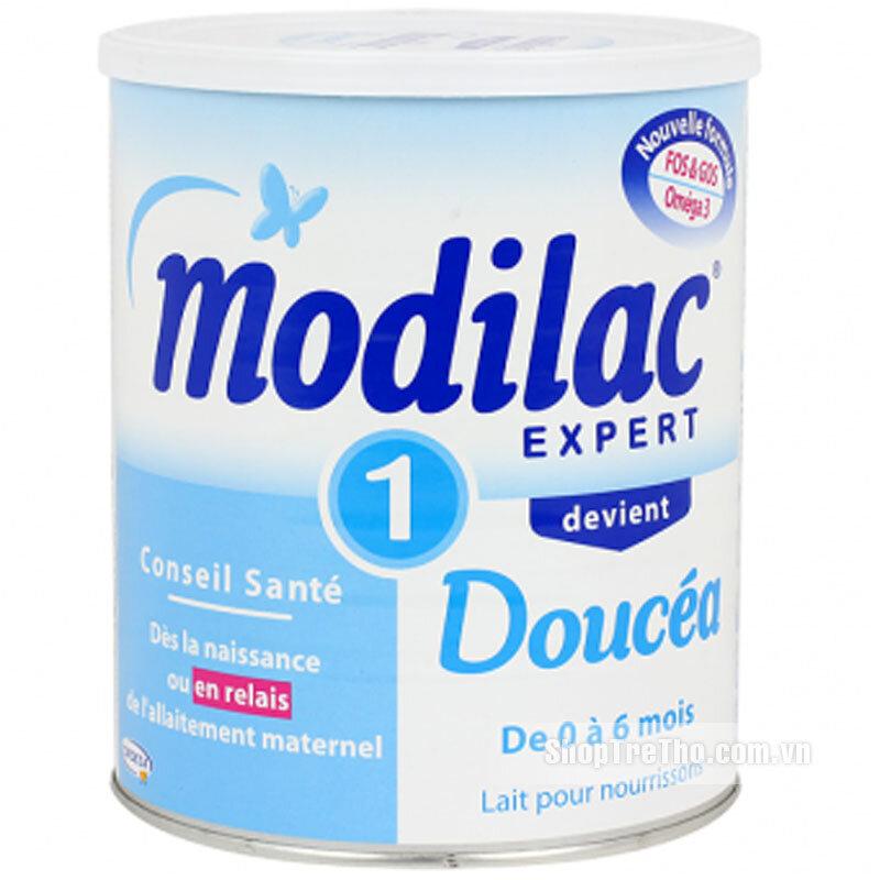 Sữa bột Modilac Expert Doucea 1 - hộp 800g (dành cho trẻ từ 0 - 6 tháng tuổi)