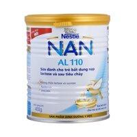 Sữa bột Nan AL110 (AL-110) - hộp 400g (dành cho trẻ bị tiêu chảy và không dung nạp lactos)