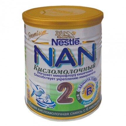 Sữa bột Nan chua số 2 Nga - hộp 400g (dành cho trẻ từ 6 - 12 tháng)