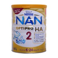Sữa bột Nan HA 2 - 800g (dành cho trẻ 6-24 tháng)