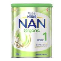 Sữa bột Nan Organic số 1 (Úc) - 800g, dành cho trẻ từ 0-6 tháng