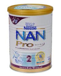 Sữa bột Nan Pro 2 - hộp 400g (dành cho trẻ từ 6 - 12 tháng)