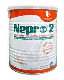Sữa bột Nepro 2 - hộp 400g (dành cho người bệnh thận)