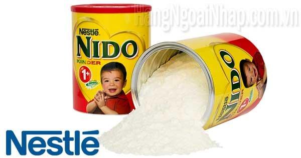 Sữa bột Nestle Nido Kinder 1+ - hộp 800 g (chống táo bón)