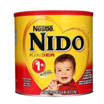 Sữa bột Nestle Nido Kinder 1+ - hộp 2.2 kg (chống táo bón)