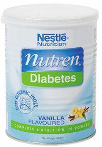 Sữa bột Nestle Nutren Diabetes - hộp 400g (dành cho người bị bệnh đái tháo đường)