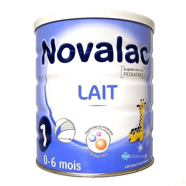 Sữa bột Novalac số 1 - hộp 800g (dành cho trẻ từ 0 - 6 tháng)