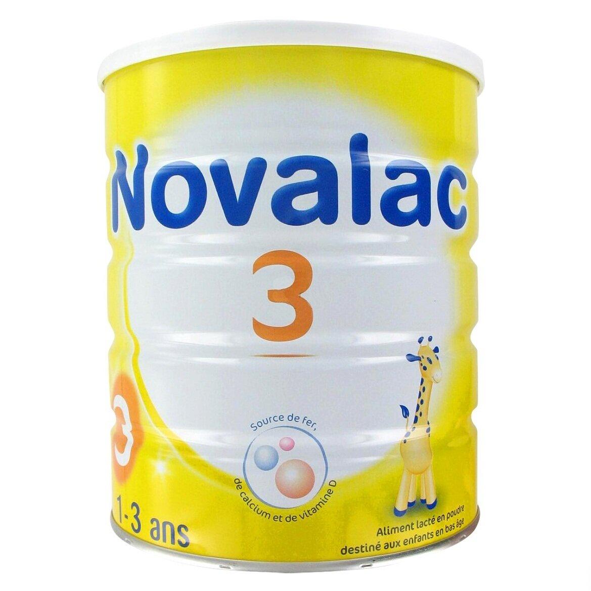 Sữa bột Novalac số 3 - hộp 800g (dành cho trẻ từ 1 - 3 tuổi)