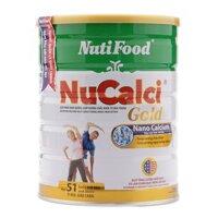 Sữa bột NuCalci Gold NutiFood hộp - 400g