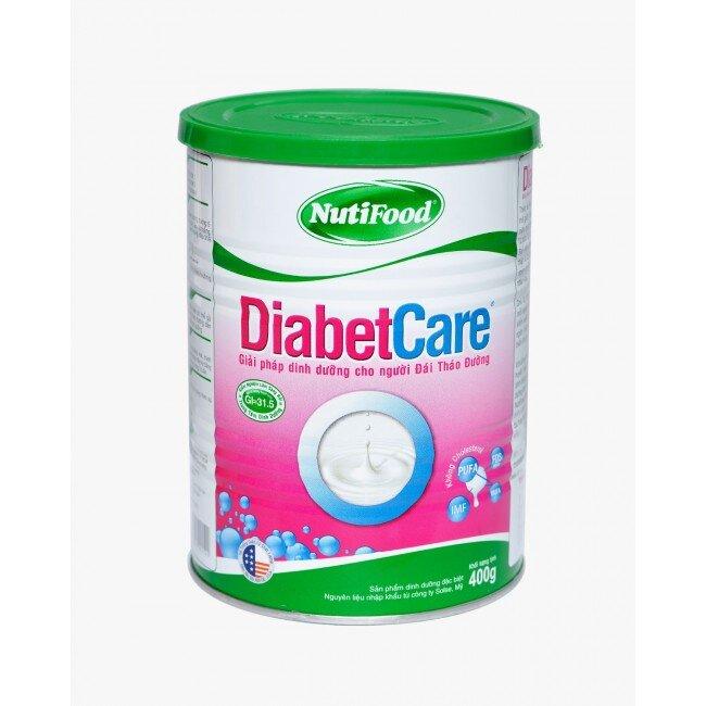 Sữa bột Nutifood Diabetcare - hộp 400g (dành cho người bị tiểu đường)