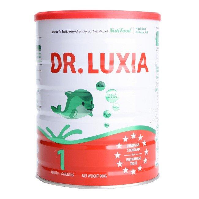 Sữa bột Nutifood DR.Luxia 1 - hộp 900g (dành cho trẻ 0 - 6 tháng)