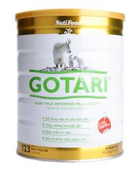 Sữa bột Nutifood Gotari 123 - hộp 900g (sữa dê dành cho trẻ từ 1 - 3 tuổi)