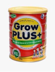 Sữa bột Nutifood Grow Plus + Suy dinh dưỡng - hộp 900g (dành cho trẻ từ 1 tuổi trở lên bị suy dinh dưỡng)