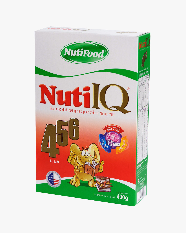 Sữa bột Nutifood Nuti IQ 456 - hộp 400g (dành cho trẻ từ 4 - 6 tuổi)