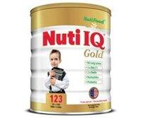 Sữa bột Nutifood Nuti IQ Gold 123 - hộp 900g (dành cho trẻ từ 1 - 3 tuổi)