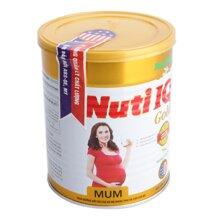 Sữa bột Nutifood Nuti IQ Mum Gold - hộp 900g (dành cho bà mẹ mang thai và cho con bú)