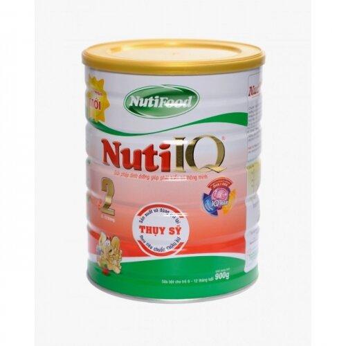 Sữa bột Nutifood Nuti IQ Step 2 - hộp 900g (dành cho trẻ từ 6 - 12 tháng)