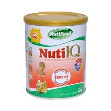 Sữa bột Nutifood Nuti IQ Step 2 - hộp 400g (dành cho trẻ từ 6 - 12 tháng)