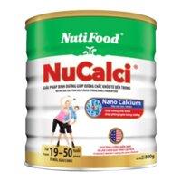 Sữa bột Nutifood Nuti NuCalci Gold - hộp 800g (dành cho người trên 51 tuổi)