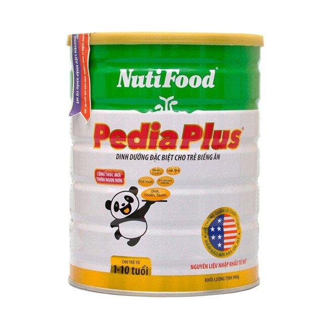 Sữa bột Nutifood Nuti PediaPlus - hộp 900g (dành cho trẻ từ 1 - 10 tuổi)